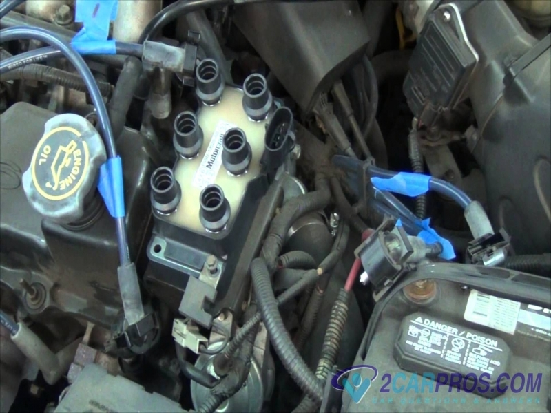 Ignition Coil Replacement Ford Taurus 1995-2001 - Youtube