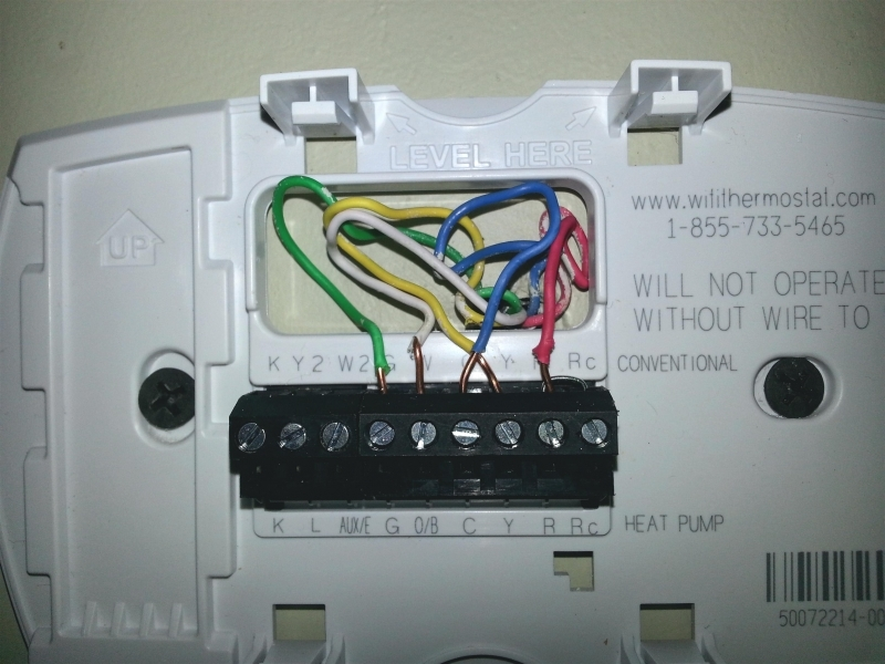 2 Stage Honeywell 6000 Thermostat Wiring Diagram  Wiring Forums