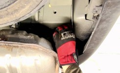 Installation Of A Trailer Hitch On A 2012 Chevrolet Traverse
