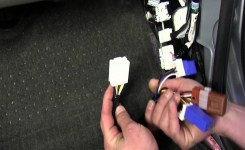 Installation Of A Trailer Wiring Harness On A 2011 Nissan Xterra