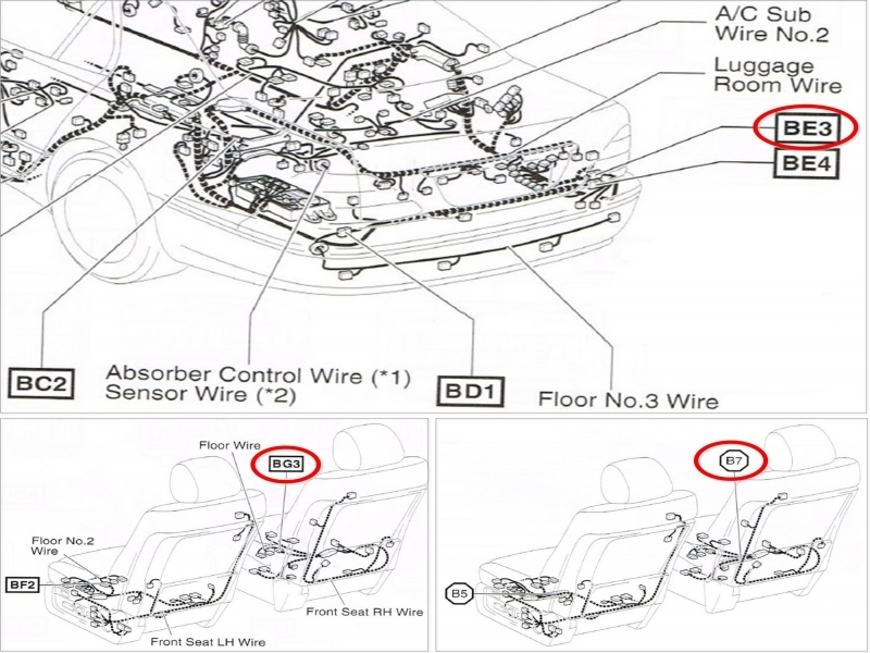 2001 Lexus Is300 Radio Wiring Diagram