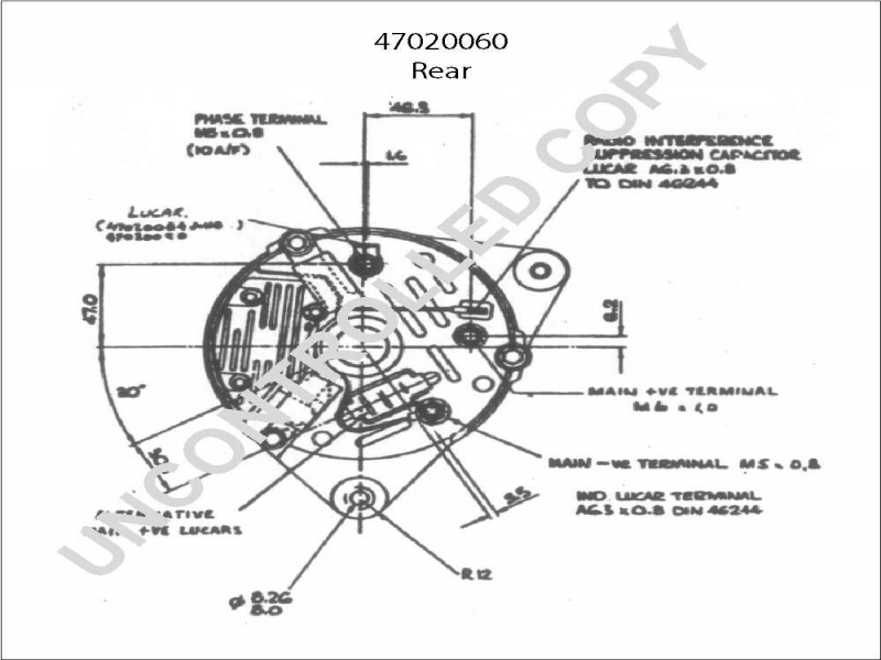 Denso 210 0406 Alternator Wiring Diagram