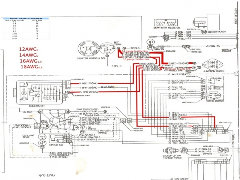1979 Chevy C30 Truck Wiring Diagram Gauges  Wiring Forums