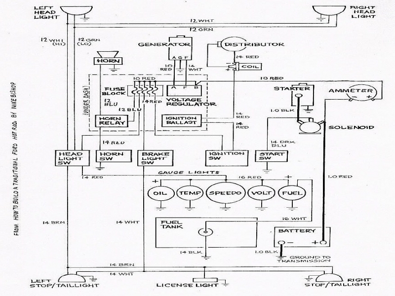 Alternator Wiring Diagram Hitachi: Amp ac delco alternator