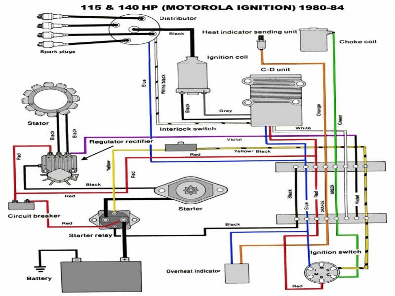 Outboard Ignition Switch Wiring Diagram  Wiring Forums