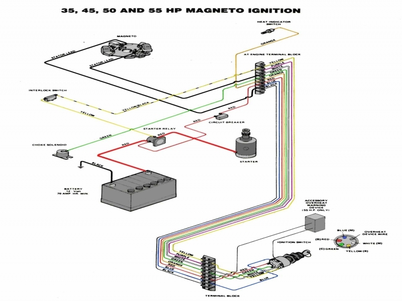 Mastertech Marine -- Chrysler & Force Outboard Wiring Diagrams