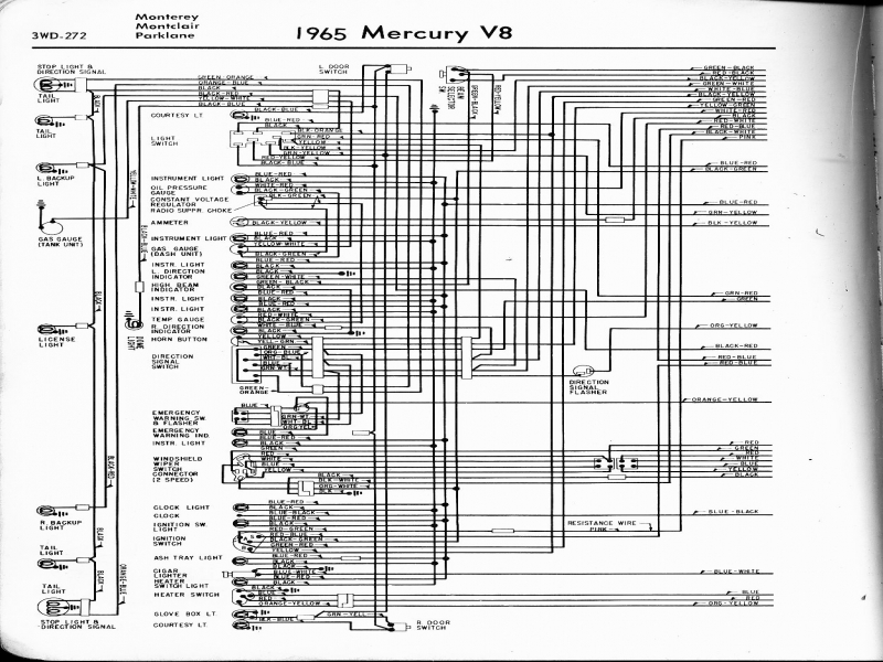 Mercury Cougar Wiring Harness Diagram