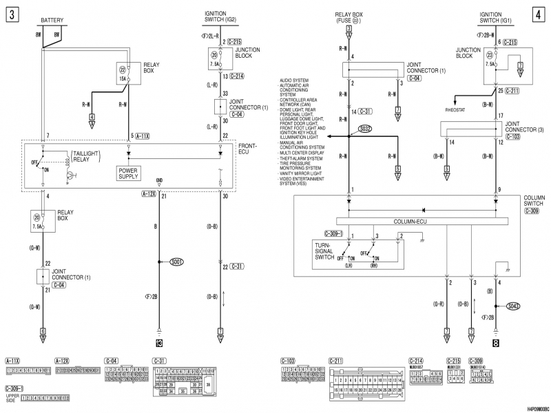 2002 Mitsubishi Montero Fuse Box Diagram  Wiring Forums