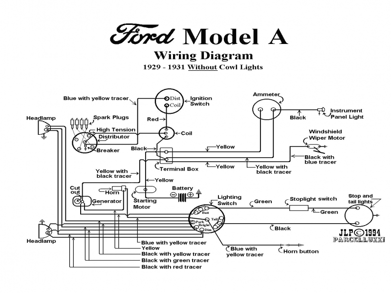 model t ford forum wiring diagrams and wire gauges also a diagram diagram ford model a wiring file ve96805