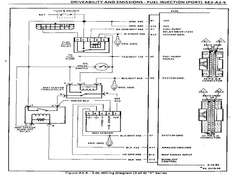 1986 Camaro Fuel Pump Relay Wiring Diagram  Wiring Forums