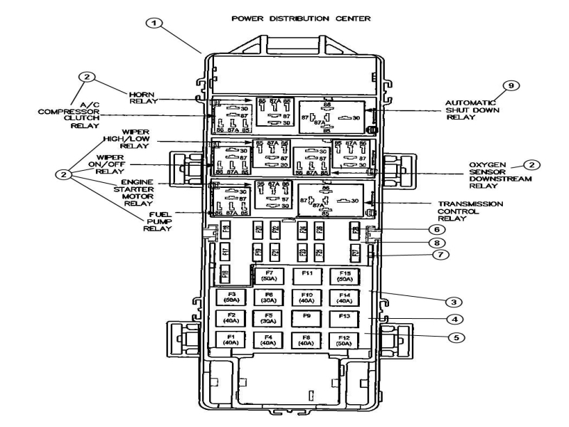 1998 Jeep Grand Cherokee Fuel Pump Relay  Wiring Forums