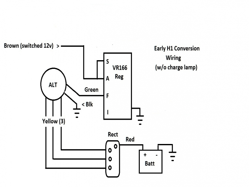 3 Wire Rectifier Regulator Wiring Diagram
