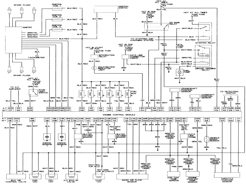 Fine Toyota Tacoma Wiring Diagram Ideas - Electrical Circuit Diagram ...