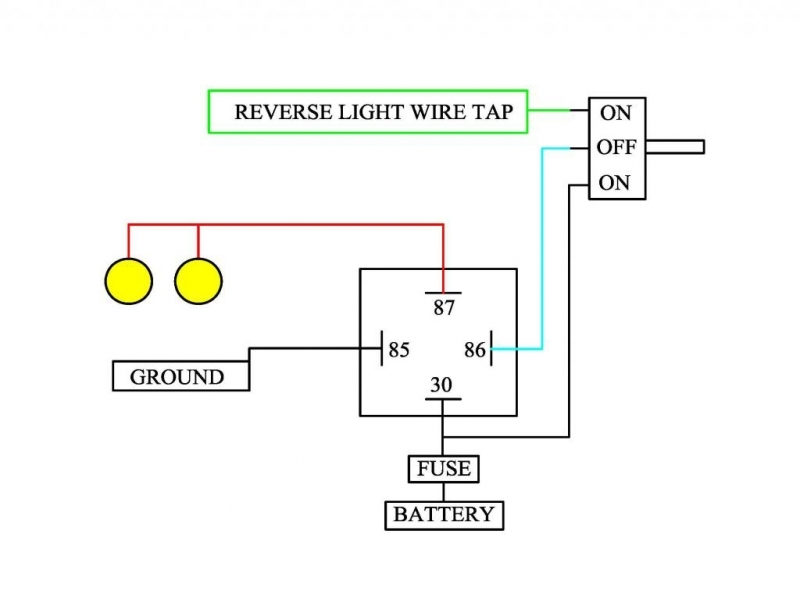 Toyota Tundra Reverse Light Wiring Diagram  Wiring Forums