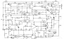 Schematic Diagram – Project Of Electronic Circuit Stock Photo