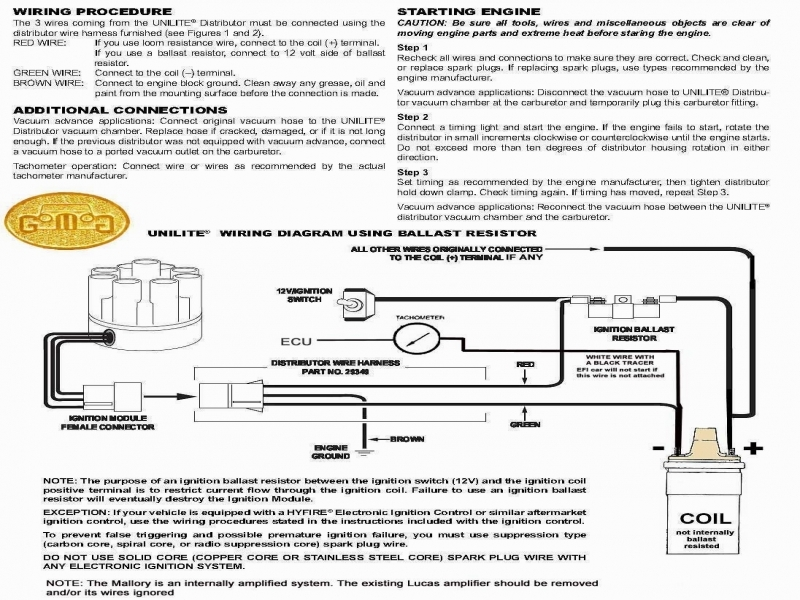 Mopar Electronic Ignition Wiring Diagram - Www.imagez.co on