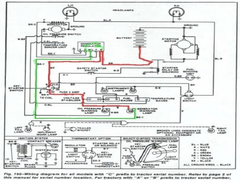 ford diesel tractor wiring diagram ford 4600 tractor wiring diagram rh grooveguard co Ford Diesel Tractor Wiring Diagram Old Ford Tractor Wiring Diagram