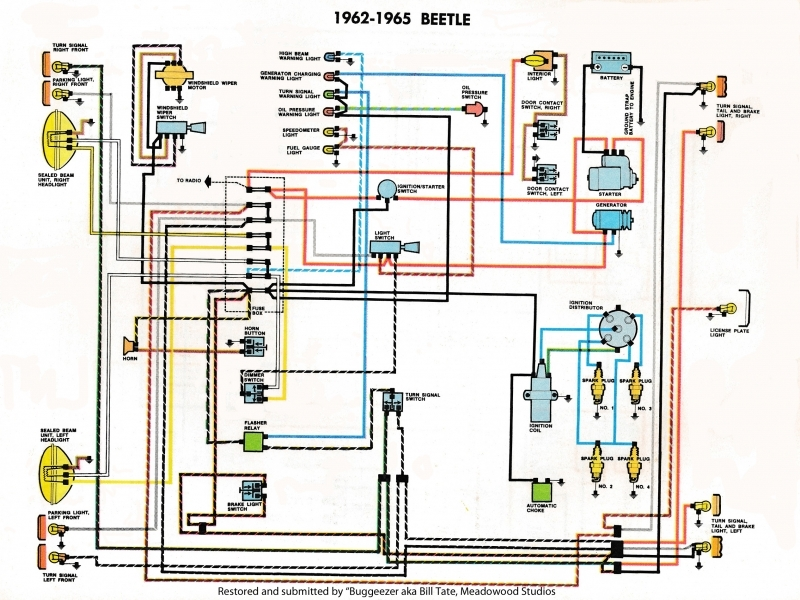 1973 Vw Beetle Fuse Box Diagram - Wiring Forums