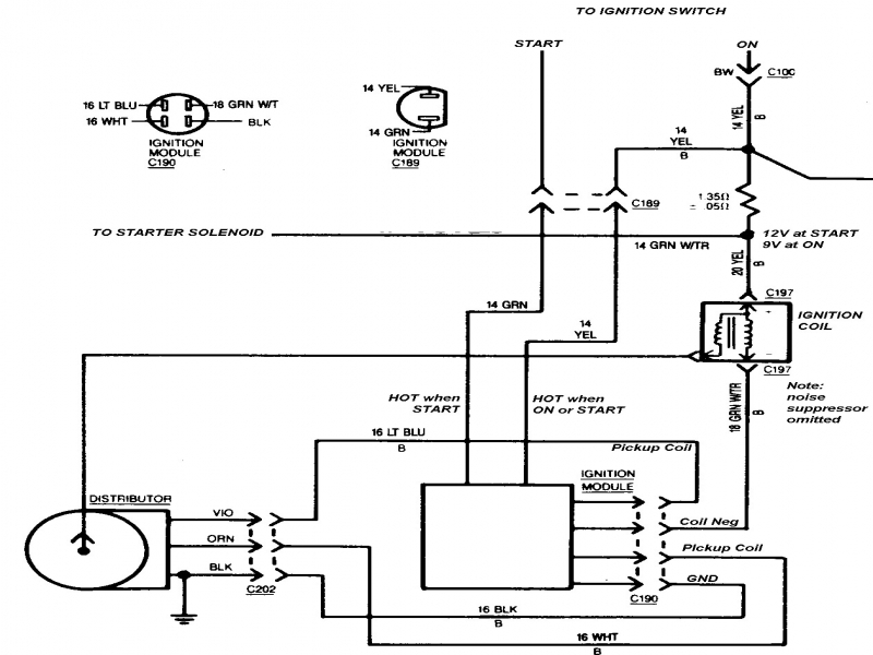Hei Ignition Module 5 Pin Wiring Diagram  Wiring Forums