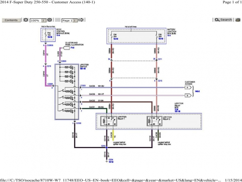 31 Ford Upfitter Switches Wiring Diagram