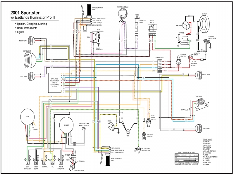 Wiring Diagram 97 Sportster Turn Signal Relay  Wiring Forums