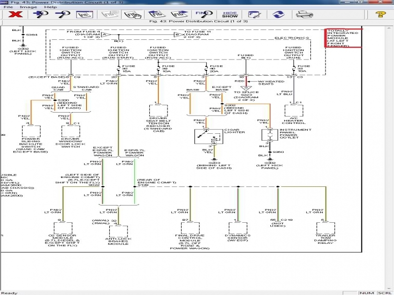 Dodge Ram 2500 Transmission Wiring Diagram  Wiring Forums