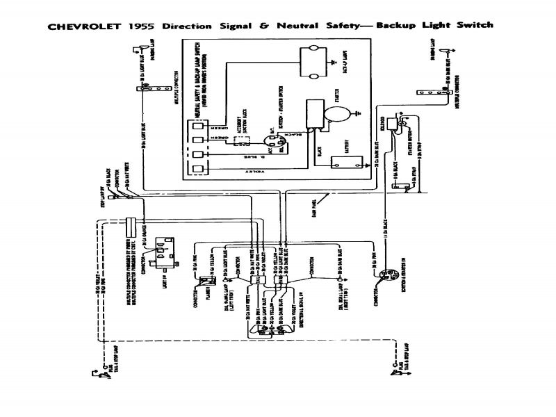 Wiring Diagram For 1956 Chevrolet Bel Air  Wiring Forums