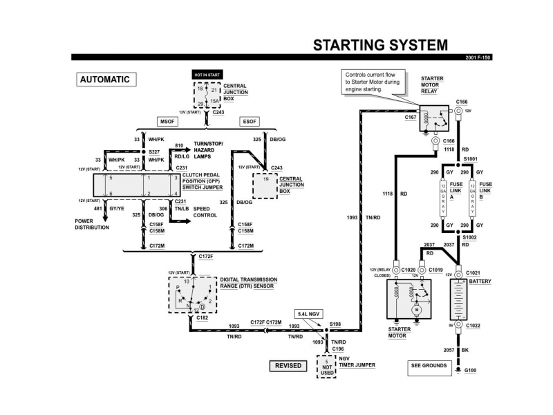 1998 Ford F150 Fuel Pump Wiring Diagram  Wiring Forums