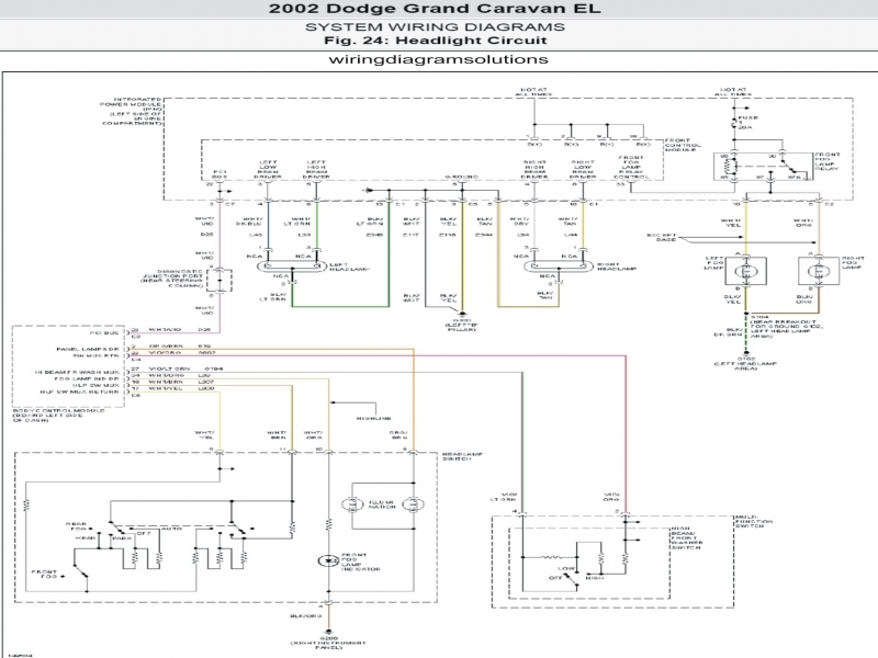 Wiring Diagram For 2004 Dodge Grand Caravan - Wiring Forums