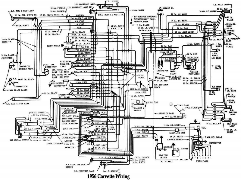 1966 corvette wiring diagram free 1966 corvette wiring diagram - wiring forums 1966 corvette wiring diagram pdf #3