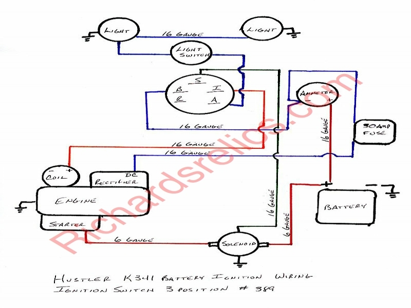 Wiring Diagram For Briggs And Stratton 18 Hp – The Wiring Diagram