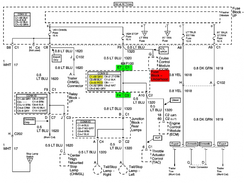 04 Chevy Silverado Bose Wiring Diagram  Wiring Forums