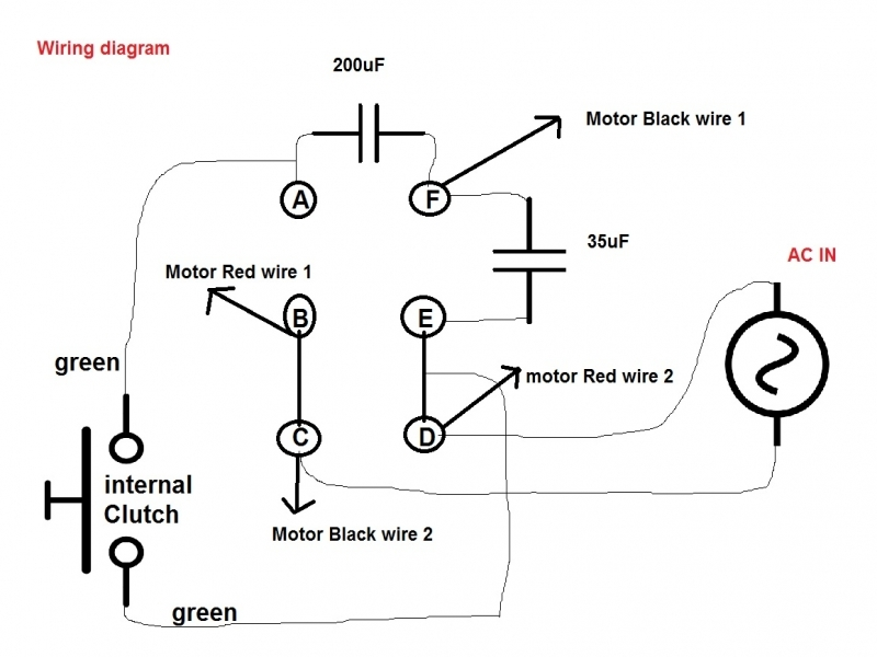 Air Conditioner Capacitor Wiring Diagram  Wiring Forums