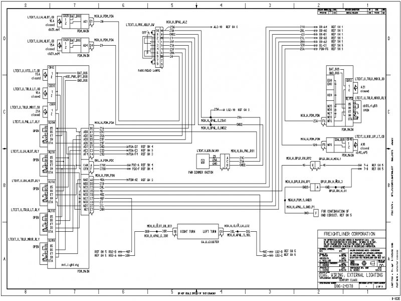 Wiring Diagrams Freightliner Fl70 – The Wiring Diagram