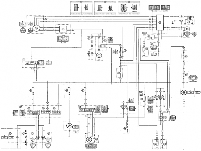 yamaha 250 atv wiring schematics  center wiring diagram oil
