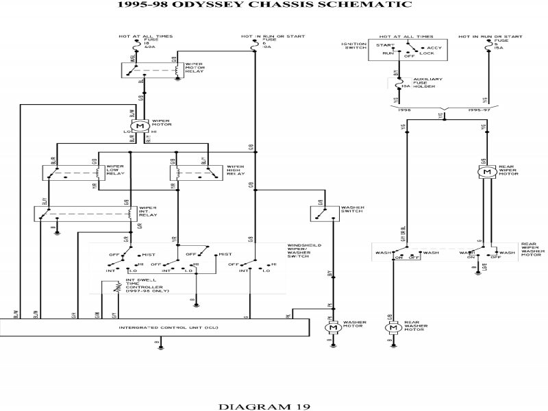 2004 Honda Odyssey Wiring Diagram \u2013 Gooddy