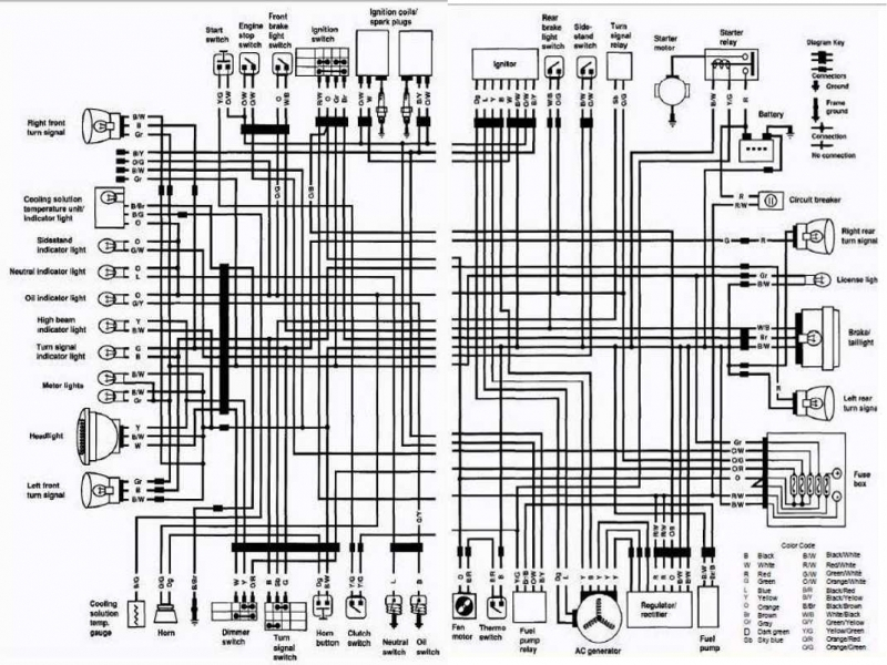 2007 Gsxr 600 Wiring Diagram  Wiring Forums