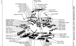 Just A Car Guy: Ever Wanted A Factory Technical Drawing Of The
