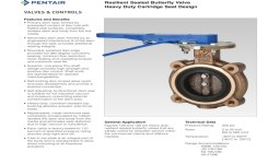 Keystone Figure 129/139 Resilient Seated Butterfly Valve – Pentair