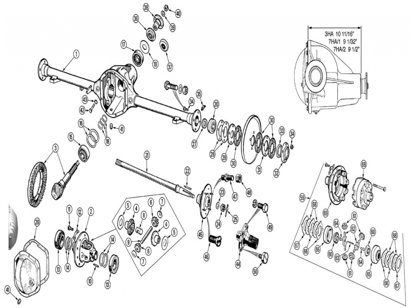 1981 Corvette Rear End Diagrams - Wiring Forums