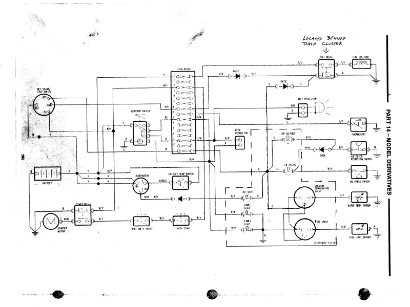 FORD 1720 TRACTOR WIRING DIAGRAM  Auto Electrical Wiring