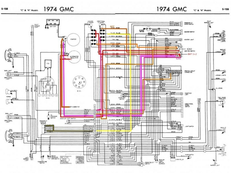 1973 C10 Wiring Diagram  Wiring Forums