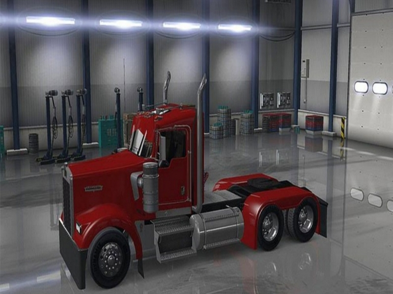 1001 More Kenworth W900 1.3 Edit Pinga Mod - Ats Mod | American Truck Galerry Photos
