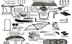 40 Plus Aftermarket Bicycle Parts | We Have A Large Selection Of Cruiser Images