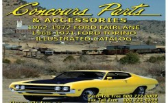 55 Moreover 1962-1972 Fairlane & 1968-1971 Torino Parts 2015Concours Parts Gallery Images