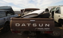 Much More Junkyard Find: 1980 Datsun 720 King Cab 4Wd Pickup – The Truth About Gallery Images