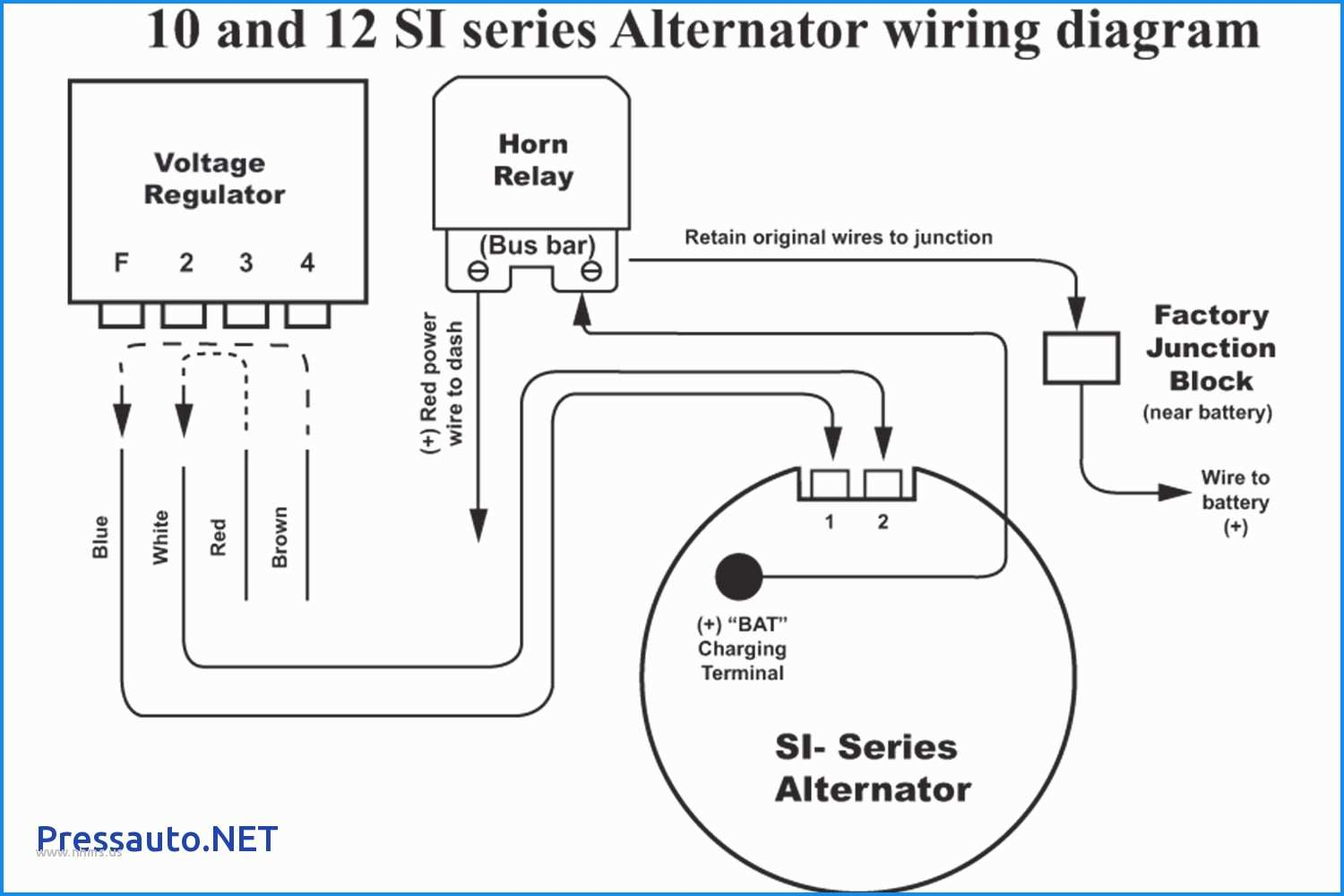 Delco Remy 50dn Alternator Wiring Diagram
