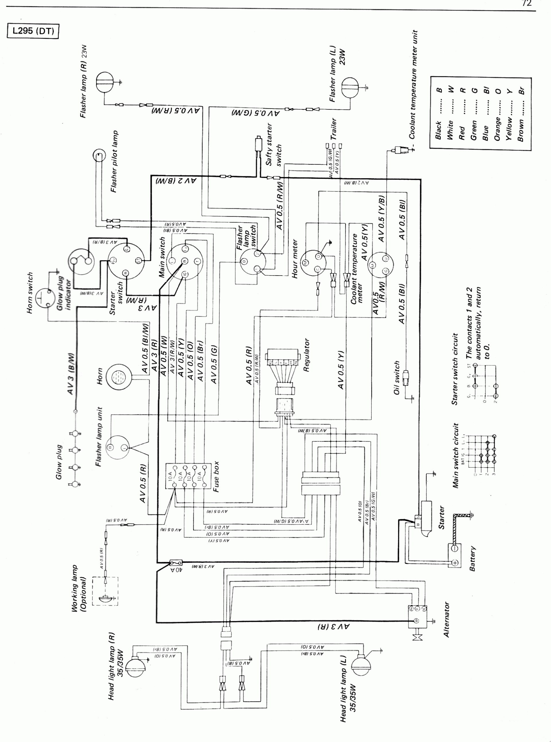 Kubota Regulator Wiring Schematic