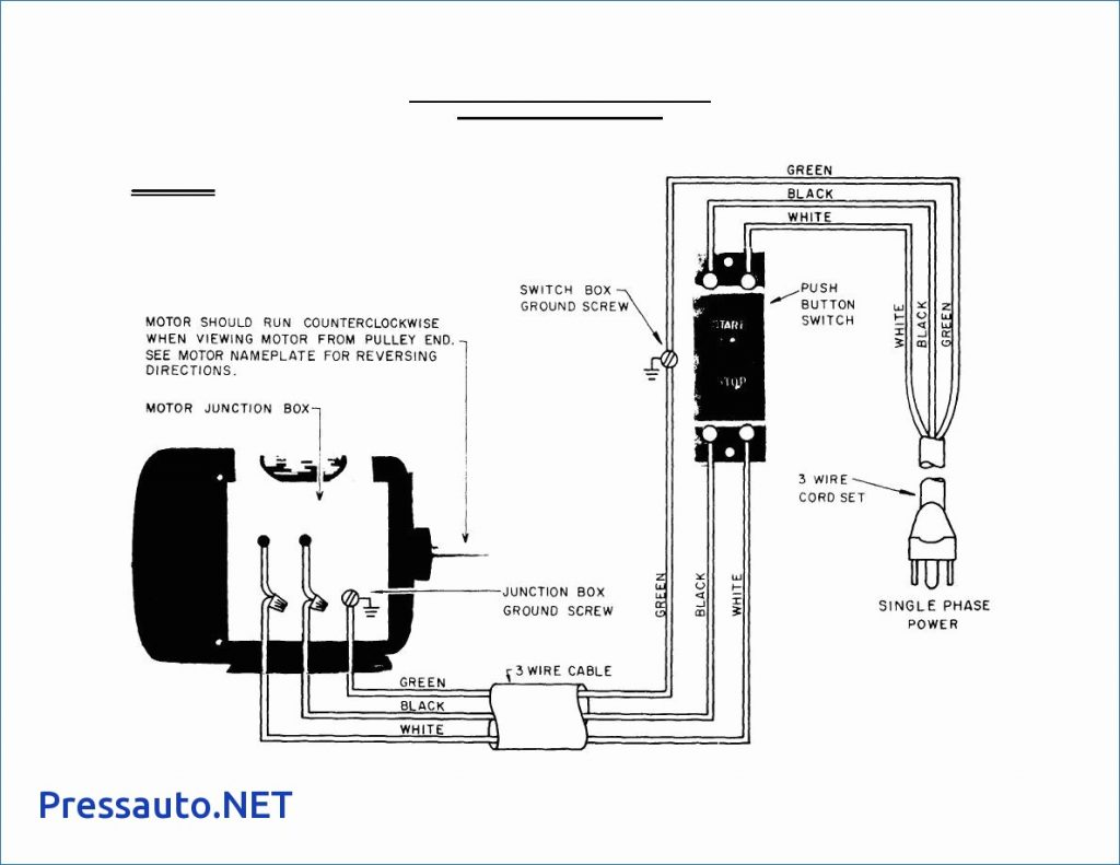 How To Wire A Motor Starter Diagram