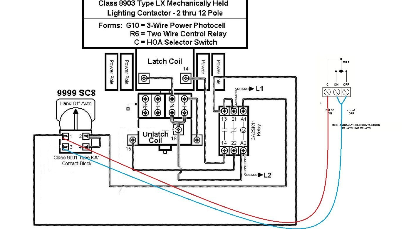 Schneider Lighting Control Wiring Diagram